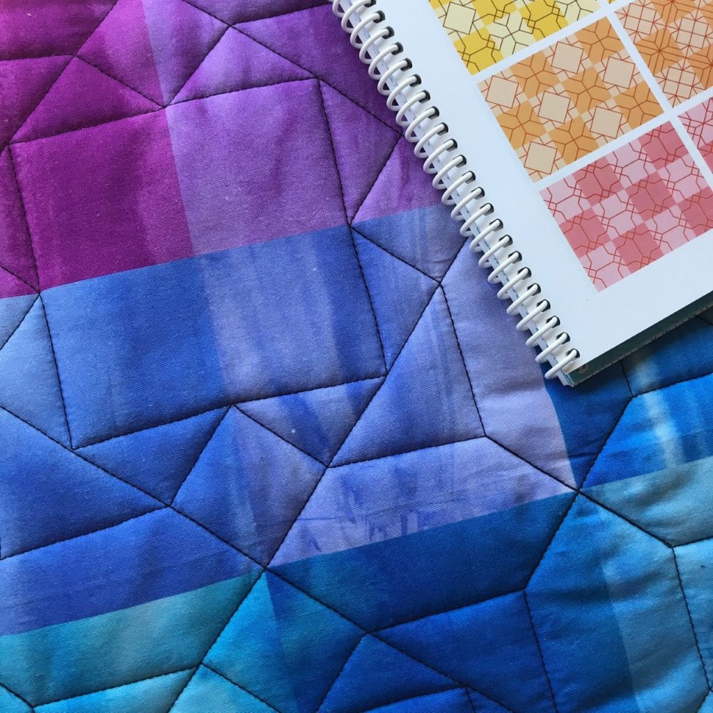 Walking Foot Quilting Class with Melissa Marginet @ Online via Zoom